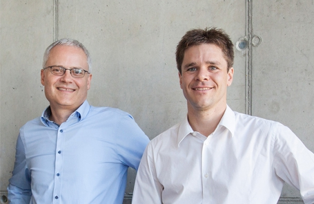 Andreas Krug und Peter Beck, decide Clinical Software